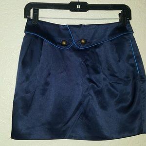 Navy blue sailor skirt